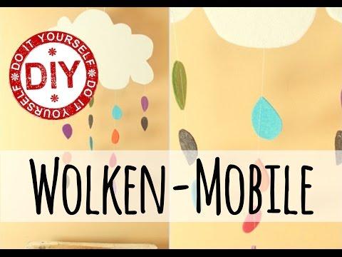 DIY: Filz-Wolkenmobile fürs Kinderzimmer