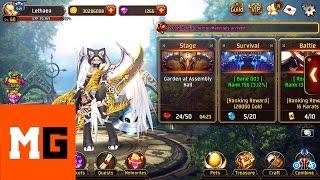 Video [iOS] Kritika: The White Knights - Cat Acrobat Gameplay MP3, 3GP, MP4, WEBM, AVI, FLV Juli 2018