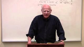 Econ 305, Lecture 25, Part IV