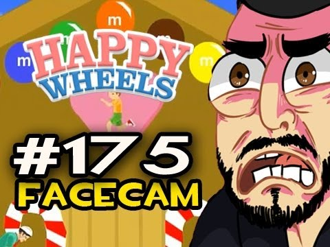 Happy Wheels w/Nova Ep.175 FACECAM - WELCOME TO CANDY LAND! Video