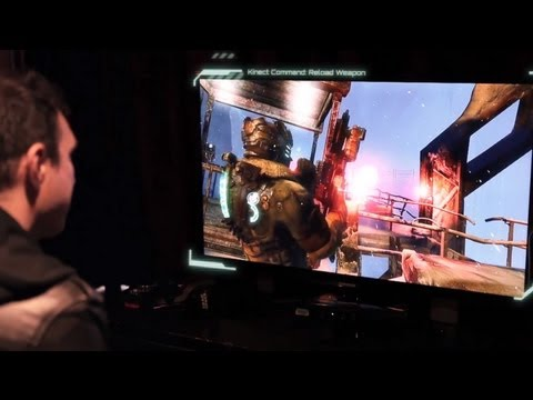 0 New Dead Space 3 video shows Kinect commands in action