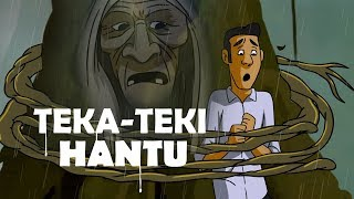 Video Teka Teki Hantu Nenek Misterius - Kartun Horor MP3, 3GP, MP4, WEBM, AVI, FLV Oktober 2018