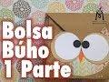 TUTORIAL Cómo hacer una bolsa de Búho/How to make an Owl