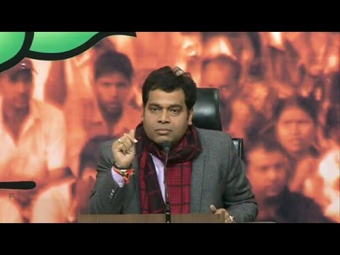 Arvind Kejriwal is a machine of lying: Shri Srikant Sharma : 29.12.2015