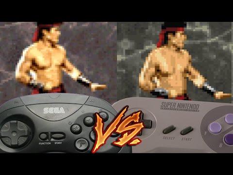 Sega 32x Vs Super Nintendo - Mortal Kombat II
