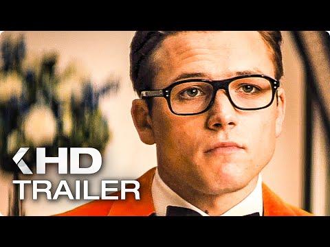 KINGSMAN 2: The Golden Circle ALL Trailer & Clips (2017)