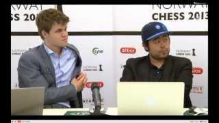 Nakamura-Carlsen post-mortem (Norway Chess 2013)