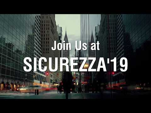 Matrix Comsec at SICUREZZA 2019, Fiera Milano, Rho, Italy | 13-15 November, 2019