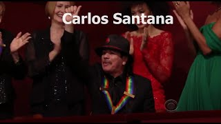 Video Carlos Santana Kennedy Center Honors 2013 Complete [Full Clip] MP3, 3GP, MP4, WEBM, AVI, FLV Oktober 2018