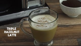 Triple Hazlenut Latte by Tastemade