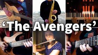 Video Who Played It Better: The Avengers Theme (Piano, Guitar, Saxophone, Flute, Electric Guitar) MP3, 3GP, MP4, WEBM, AVI, FLV Januari 2019