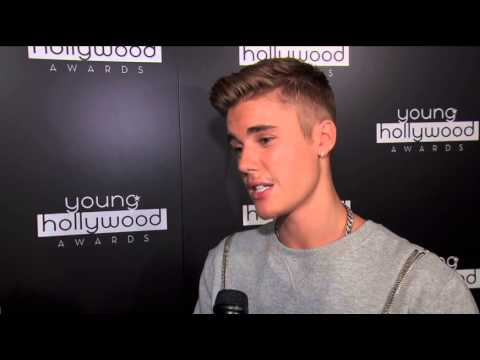 awards - Justin Bieber Interview at the 2014 Young Hollywood Awards. http://bit.ly/VarietySubscribe.