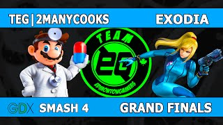 TEG 2ManyCooks vs Exodia (GDX Grand Finals)