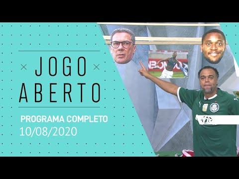 JOGO ABERTO - 10/08/2020 - PROGRAMA COMPLETO