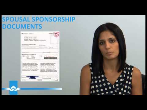 Spousal Sponsorship Supporting Documents Video