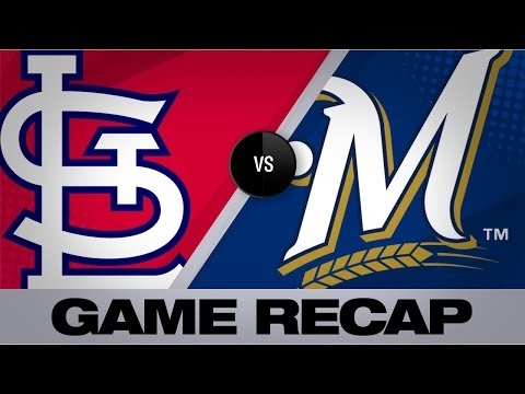 Video: 6-run 2nd propels Cards to 12-2 win | Cardinals-Brewers Game Highlights 8/26/19