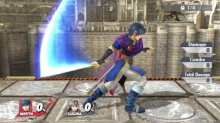 Marth vs Lucina: Perfect Pivot Momentum Differences