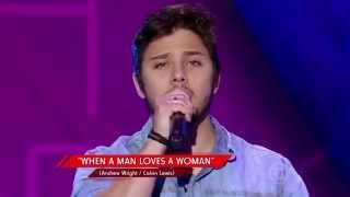 Renato Vianna canta 'When a Man Loves a Woman' no 'The Voice Brasil' - Audições | 4ª Temporada