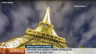 Want to climb Everest, see the Eiffel Tower, & eyeball the Empire State Building in a day? With Google Voyager, you can.