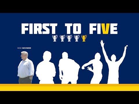 Video: #FirstToFive: Don't miss 2002 MLS Cup Champion & former Galaxy head coach Sigi Schmid on Saturday