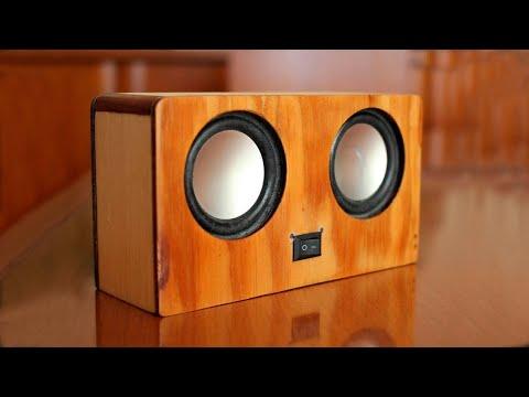 DIY:  Portable Bluetooth speaker 2X3W