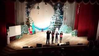 Зубренок, зима 2015, заключительный концерт (видео №1)
