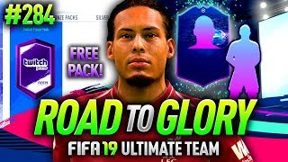 FIFA 19 ROAD TO GLORY #284 - FREE TWITCH PRIME PACK!! GUARANTEED WALKOUT!