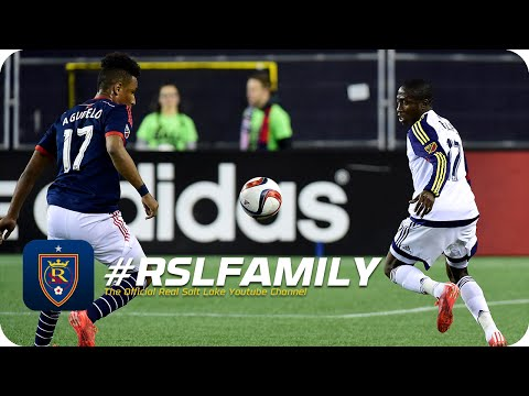 Video: HIGHLIGHTS: Real Salt Lake at New England Revolution - April 25, 2015