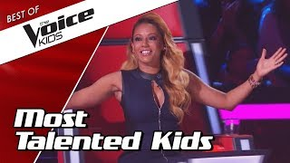 Video TOP 10 | MOST TALENTED SINGERS in The Voice Kids MP3, 3GP, MP4, WEBM, AVI, FLV Maret 2019