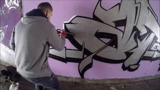 Graffiti - Ghost & Osek EA - Canal Chromige