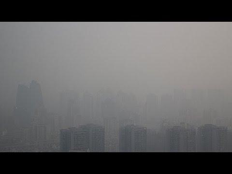 Κίνα: Σε «αποπνικτικά» επίπεδα η αιθαλομίχλη στο Πεκίνο