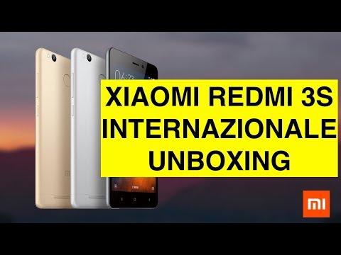 Unboxing Xiaomi Redmi 3S Internazionale (32 GB 3 GB RAM)