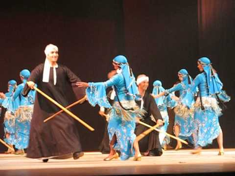 saidi - Was honoured to see the show of 50th aniverssary of existing Mahmoud Reda Troupe January 2010, Baloon Cairo Theater.