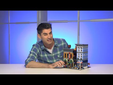 Конструктор LEGO Creator 10246 «Кабинет детектива»