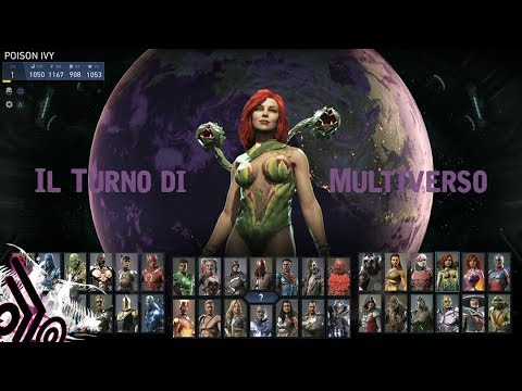 Injustice 2 Gameplay ITA Il Turno Di Poison Ivy-Buon San Valentino In Ritardo-Multiverso