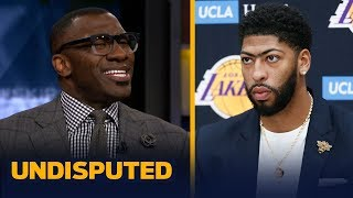 Shannon Sharpe says Lakers win projections are 'disrespectful,' predicts 56 wins | NBA | UNDISPUTED