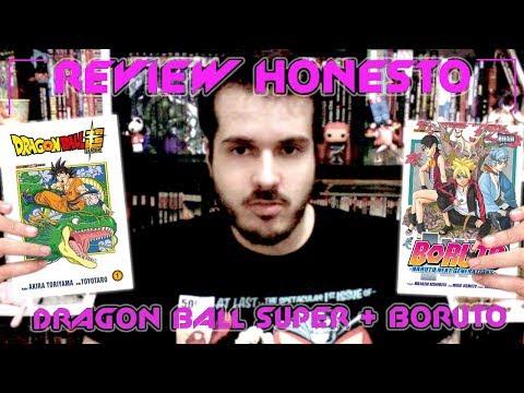 Review Honesto - Dragon Ball Super + Boruto   Panini