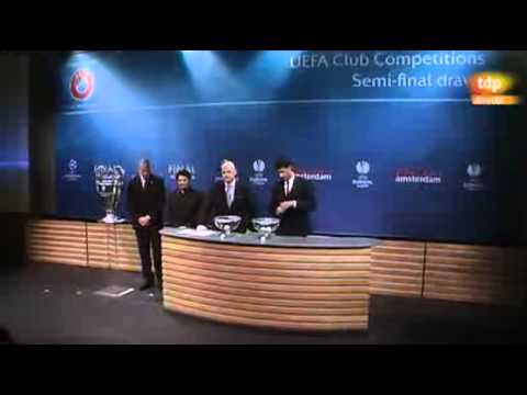 Sorteo semifinales Champions League 2013