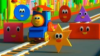 รถไฟบ๊อบ – ผจญภัยกับรูปร่างต่างๆ |  BOB THE TRAIN – ADVENTURE WITH SHAPES
