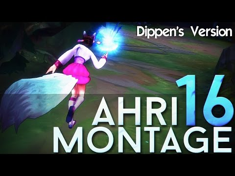 cut - Hello people Verti here! Here is a second version of my Ahri Montage 16. Edited by Dippen! I've always wanted to see one of my montages well edited, so I'm proud to present you the Ahri Montage...