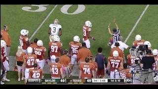 Lanear Sampson vs Texas, Iowa State & Texas Tech (2012)