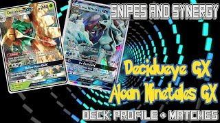 Sun and Moon Guardians Rising Deck Profile: Decidueye / Aloan Ninetales GX  S&S (Snipe and Synergy) by Demon SnowKing
