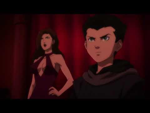 Son of Batman - Batman meets his son, Damian