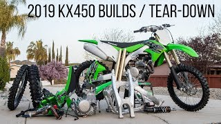 5. 2019 Kawasaki KX450 Project Builds / Tear-Down Time