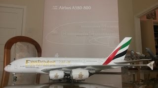 Video Gemini Jets 1:200 Emirates A380 [A6-EEK] Unboxing and Review MP3, 3GP, MP4, WEBM, AVI, FLV Juni 2018