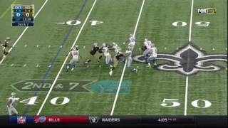 Watch highlights from the Lions' Week 13 matchup against the New Orleans Saints.-------I DO NOT OWN THIS CLIP--------