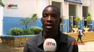 JT Français 20H - Présentation  Cheikh Tidiane Diao et Sarah Cissé    14 Août  2014