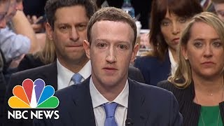 Download Video 'I'm Sorry': Facebook CEO Mark Zuckerberg Delivers Opening Statement At Senate Hearing | NBC News MP3 3GP MP4