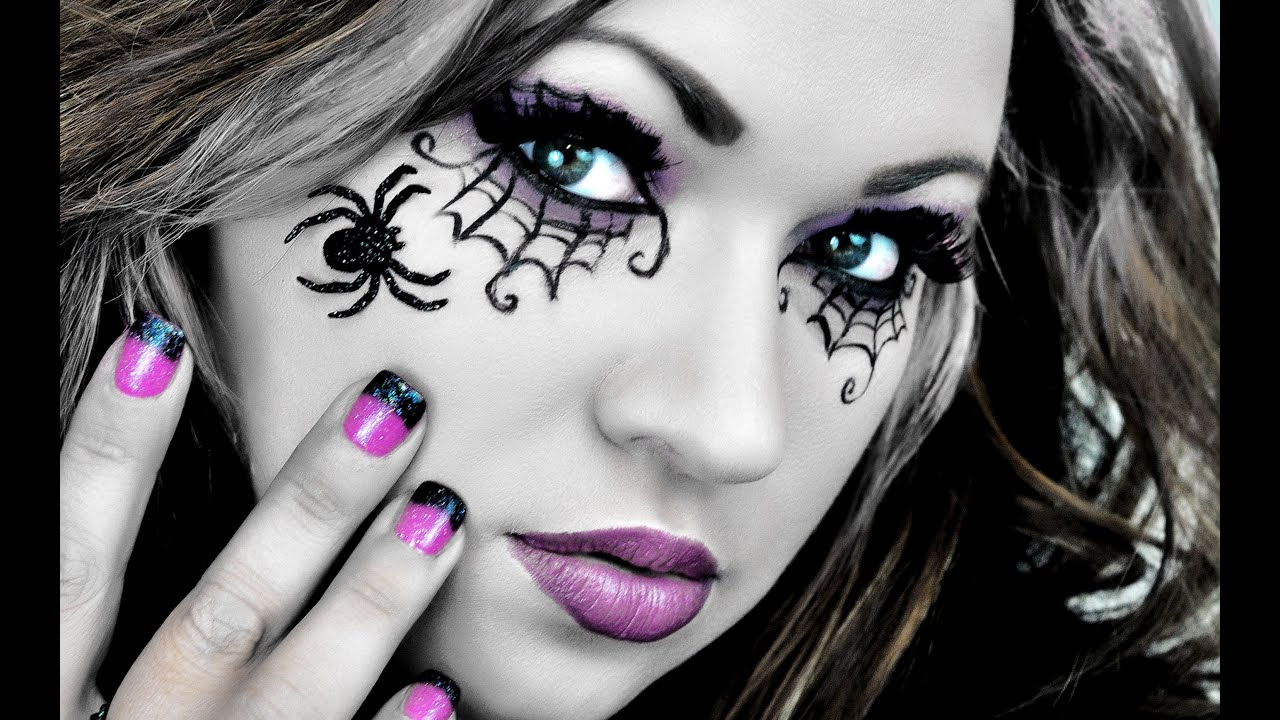 Make-up FANTASIA Ragnatele da Streghetta di Halloween ♥ VIDEOTUTORIAL