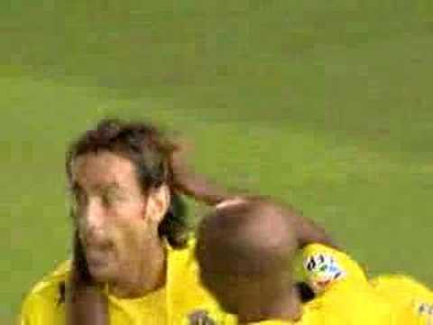Racing 0 - 2 Villarreal Giuseppe Rossi 07/08